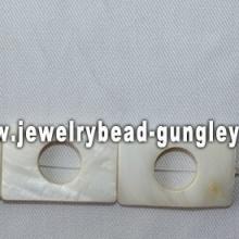 rectangle shape freshwater shell beads
