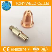 Electrodo y boquilla de plasma S45 trafimet