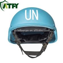 Casco a prueba de balas PASGT Kevlar para las fuerzas de mantenimiento de la paz de la ONU