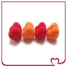 Ролик для волос Губка-валик в форме сердца