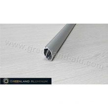 Aluminum Roller Blind Bottom Track with Anodized Silver