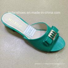 Nouveau Style Bonne Qualité Mode Dames Chaussures PU Sandales (JH160523-5)