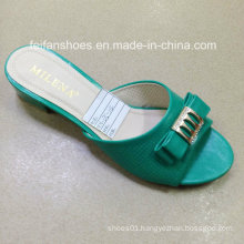 New Style Good Quality Fashion Ladies Shoes PU Sandals (JH160523-5)