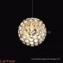 restaurant small crystal pendant light/ bar crystal light chandelier LT-12715