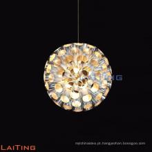 lustre de cristal pequeno do restaurante / candelabro claro LT-12715 da luz de cristal