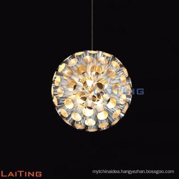 restaurant small crystal pendant light/ bar crystal light chandelier LT-12715