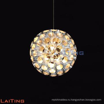 ресторан маленький кристалл кулон свет бар свет хрустальной люстры ЛТ-12715