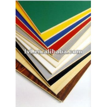 good quality double sides wood grain melamine mdf 5mm