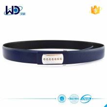 Hot Selling Navy Blue Design Elegent Leather Belt
