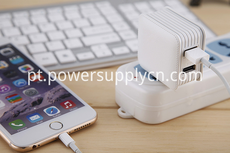 2 USB Quick Charger 5V2.1A