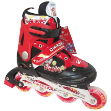 PVC Wheels Children Red Protective Gear