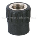 PE Fittings FEMALE COUPLING(COPPER THREAD)