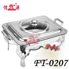 Stainless Steel Buffet Stove with Visible Lid (FT-0207)