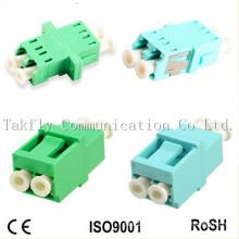 Adaptador de fibra óptica LC / Upc Sm Sx / Adaptador de fibra óptica