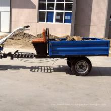 Грузоподъемностью 1500 кг,одноосный,руки трактор трейлера сброса
