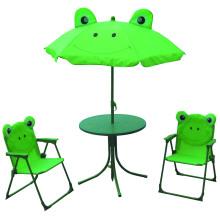 Heißer verkaufender Kinderklappstuhlregenschirm und -tabelle benutzt für Garten und Strand