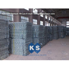 Galvanised Galfan Gabion Boxes Wire Mesh  Reno Mattress Protective Fence Manufacturer