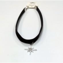 Estrella Chams con Gargantilla de collar de moda de diamantes de imitación