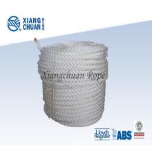 3-Strang-verdrehtes Polypropylen-Seil für Schiff