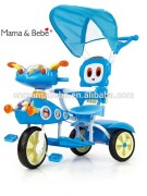 Baby Tricycle Cartoon Children Kiddie Ride On Parent Handle for sale