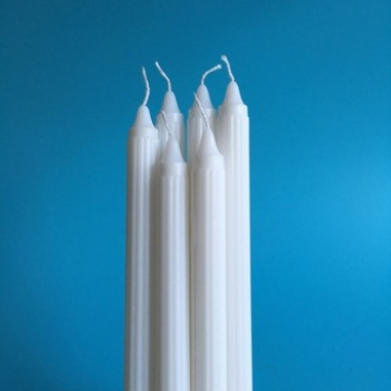 50-55Gram Paraffin Wax Giá rẻ White Fluted Candles