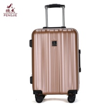 "Hot Selling round zipper 24"" pc trolly luggage"