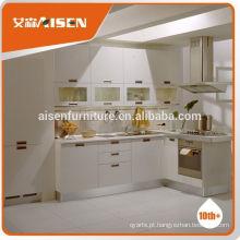 Fábrica de design de moldes profissional diretamente armário de cozinha