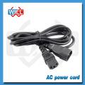 Câble d'extension de puissance IEC C14 à C13 pour moniteur d'ordinateur
