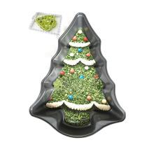 Molde antiaderente do cozimento do bolo da forma da árvore de Natal