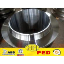 Proveedor de China, brida de cuello de soldadura de acero forjado B16.5 con PED