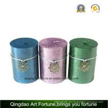 Metanlic Pillar Candle Supplier für Weihnachtsdekoration