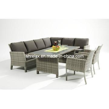 Garden Wicker Sofa Dining Set Outdoor Patio Furniture