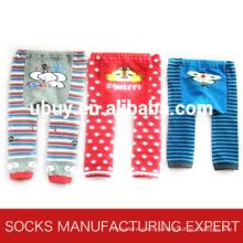 Детские красочные хлопковые ножные колготки