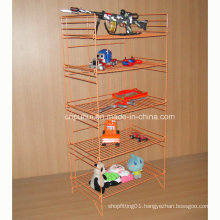 5 Tier Foldable Wire Mesh Shelf (PHY351)
