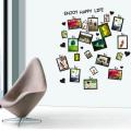 Dekorative Wandaufkleber Neues Design Überlegene Qualität Familie Bilderrahmen Custom Home Decor Abnehmbare Wandaufkleber