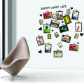 Decorative Wall Stickers New Design Superior Quality Family Photo Frame Custom Home Decor Removable Wall Sticker
