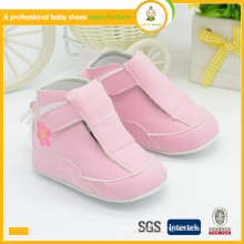 New style arrival wholesale soft sole leather baby shoes