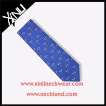 Custom Made Print Silk Necktie