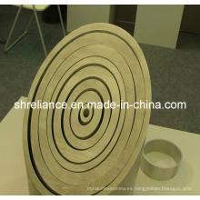 Perfiles de extrusión de aluminio / aluminio para tubo / tubo