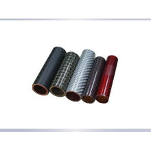 customized special shape 100% carbon fiber bent tube pipe 150mm with twill glossy surface finish