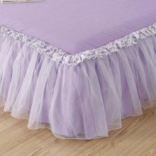 100% из микрофибры пыли рябить юбка кровати установлены кровати юбку