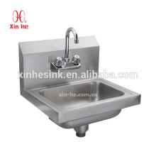American Commercial Handwaschbecken, NSF Splash Mounted Edelstahl Handwaschbecken für uns