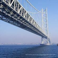 Estrutura de aço pré-fabricada Pedestrian Bridge