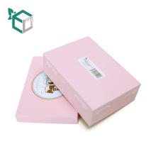 Schöne rosa Kaninchen Design Geschenk Top und Base Paper Box