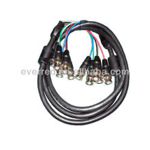 HIGH QUALITY 5 BNC to 5 BNC CABLE(ERC318)