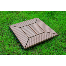 Waterproof and UV Resist WPC Interlocking Tile 20years Warranty