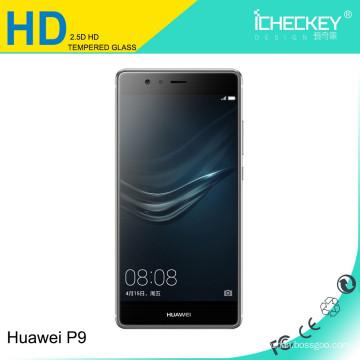 acessórios de telefone celular HD protetor de tela de vidro temperado para Huawei P9