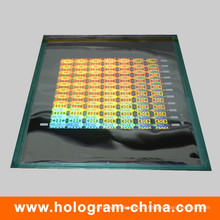3D лазерной безопасности голографической Мастер