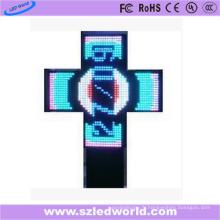 Croix de pharmacie programmable extérieure de P10 LED