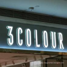 Factory price 3d front sign lighting letter high brightness led lighting letter store sign illuminated letters
